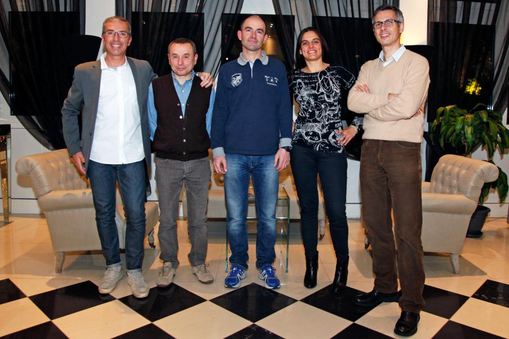 Da sinistra il Presidente Paolino Nobile, il Vice Presidente Daniele Masetti e i Consiglieri Stefano Nobili, Francesca Roni e Giacomo Ori.