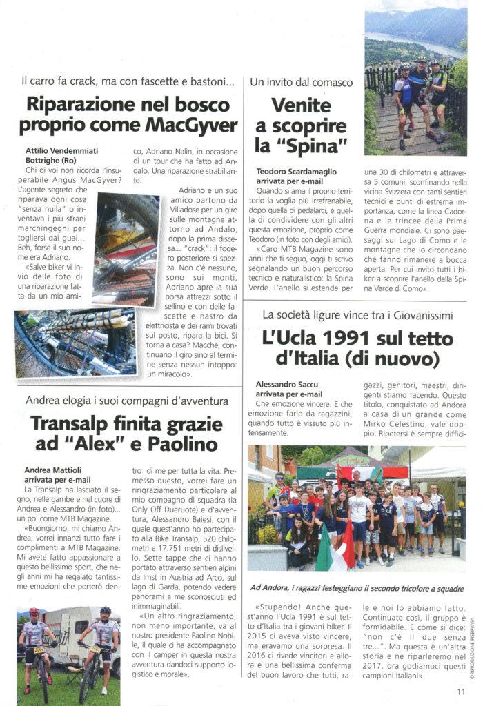 Mtb Magazine Settembre 2016